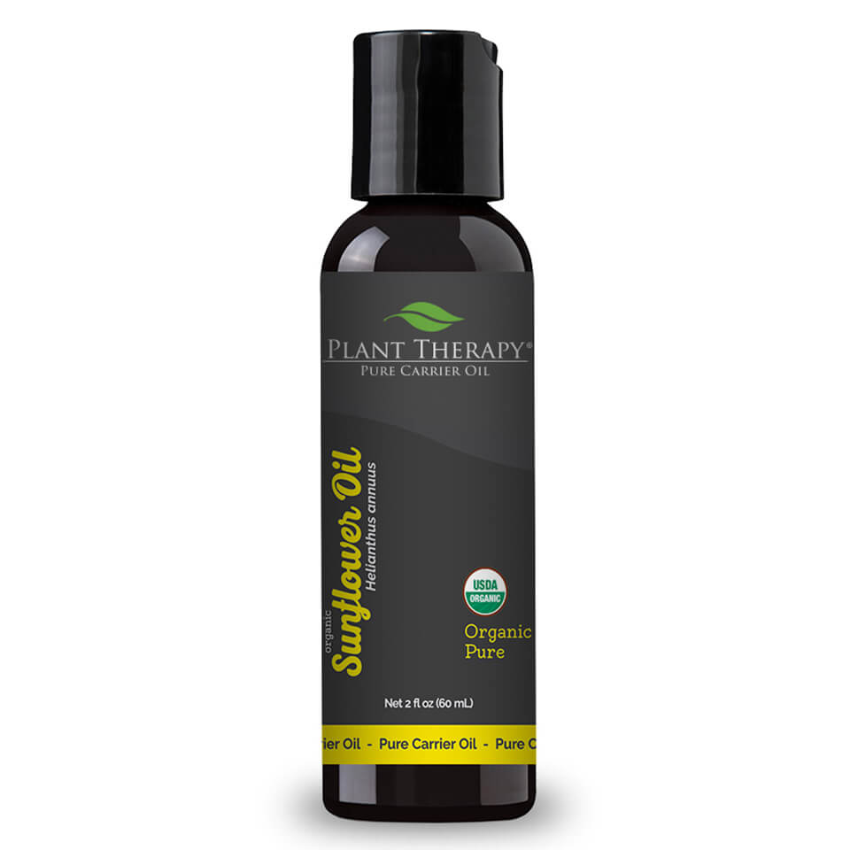 Organic Sunflower Carrier Oil - 2 oz.