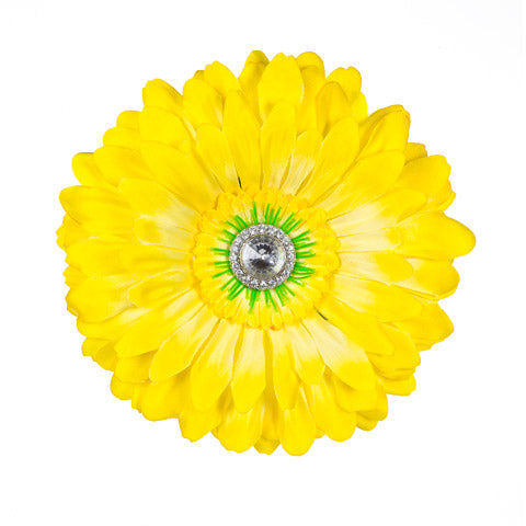 Yellow Jeweled Daisy Locker Magnet