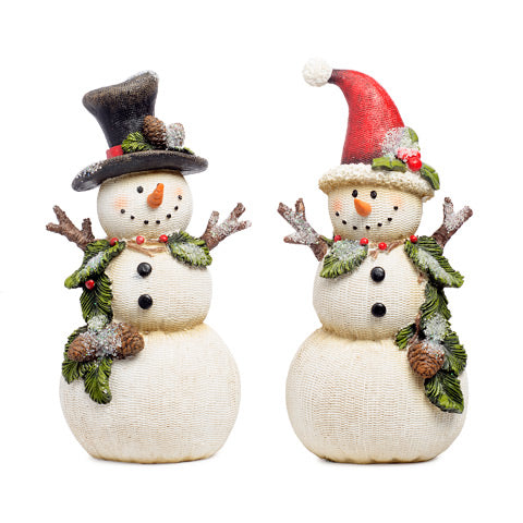 Mini Snowman Figurine