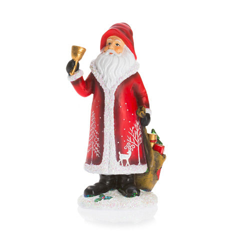 Santa Claus Ornament with Bell