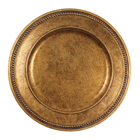 Gold Mosaic Charger