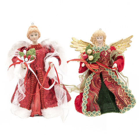Red Angel Tree Topper
