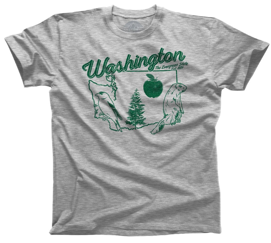 Men's Vintage Washington T-Shirt