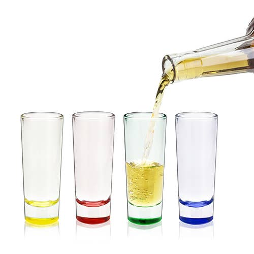 Shot Glass Shooters - Set of 4 (2 oz.)