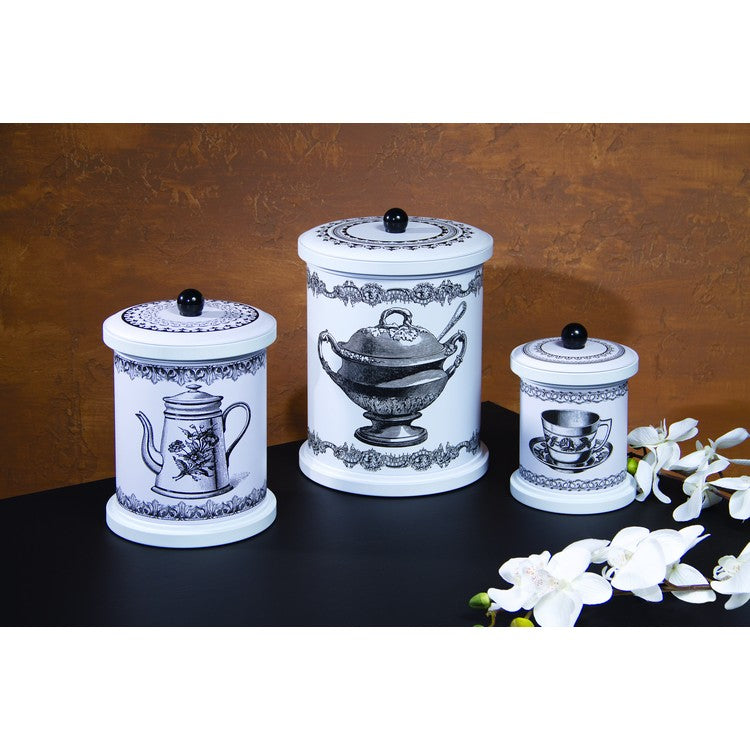 Tea Time Canisters (Set of 3)