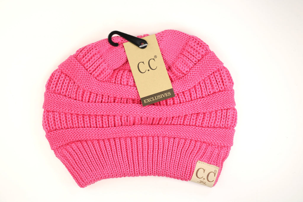 365 Solid Classic CC Beanie Hat