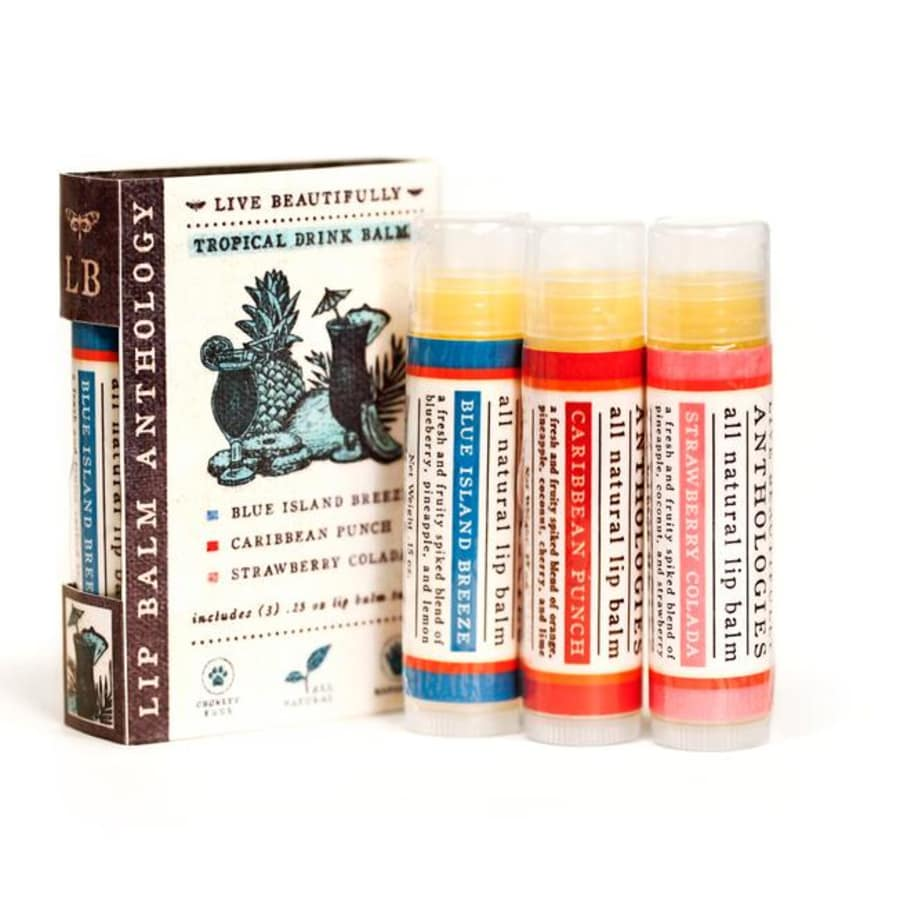 Tropical Drinks Anthology Lip Balms