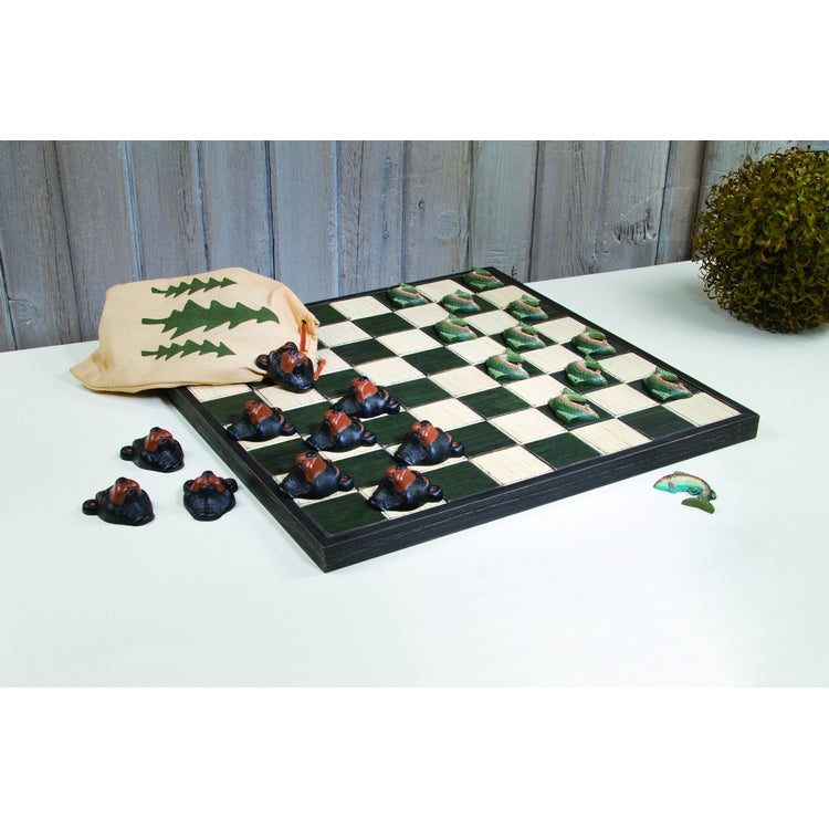 Lodge Checkerboard Game