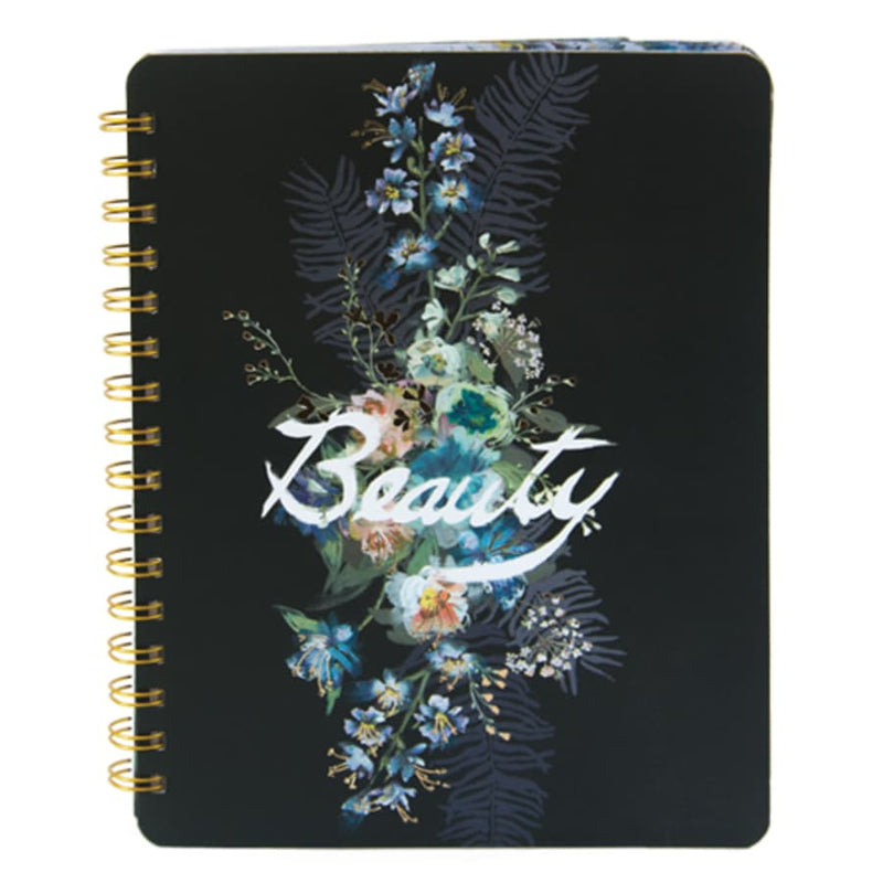 Beauty Bouquet Spiral Notebook