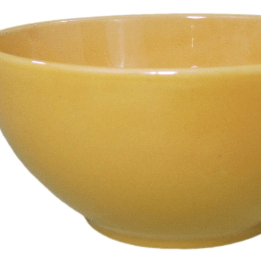 Stoneware Soup/Cereal Bowl - Yellow