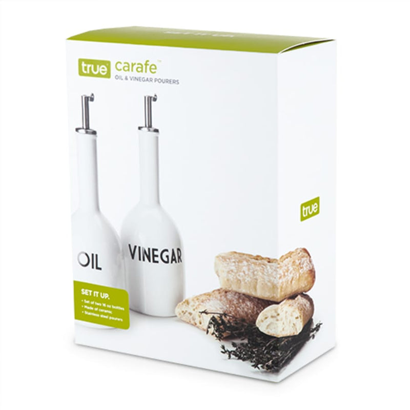 Carafe Ceramic Oil & Vinegar Set
