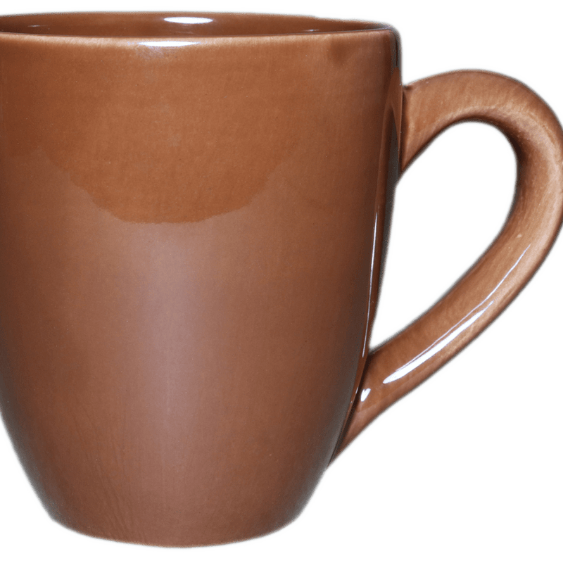 Stoneware Tea/Coffee Mug - Brown