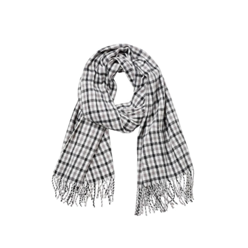 Merry Scarf (Black & Grey)