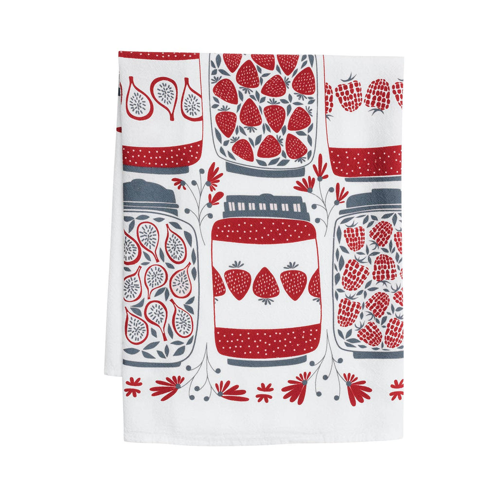 Jam Jars Tea Towel