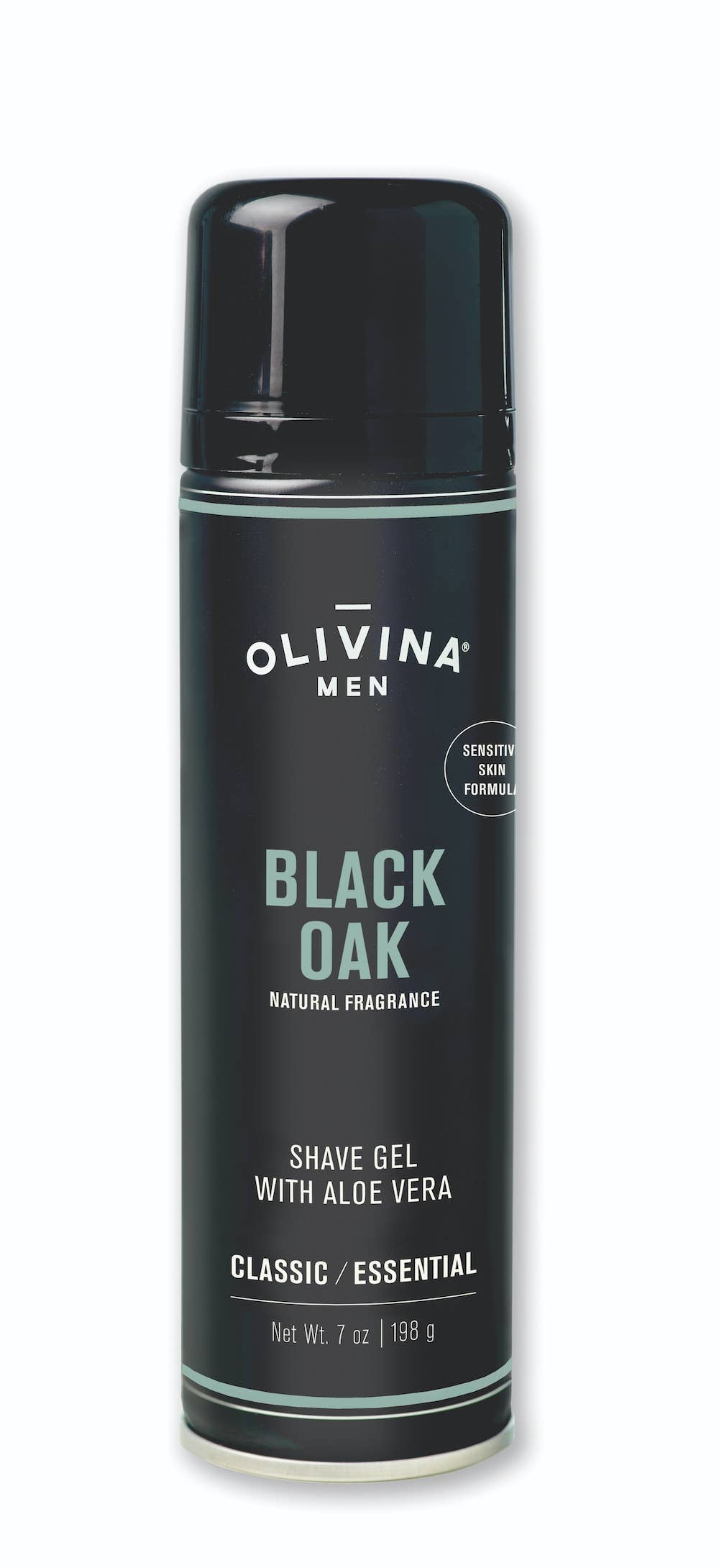 Olivina Men - Black Oak Foaming Shave Gel