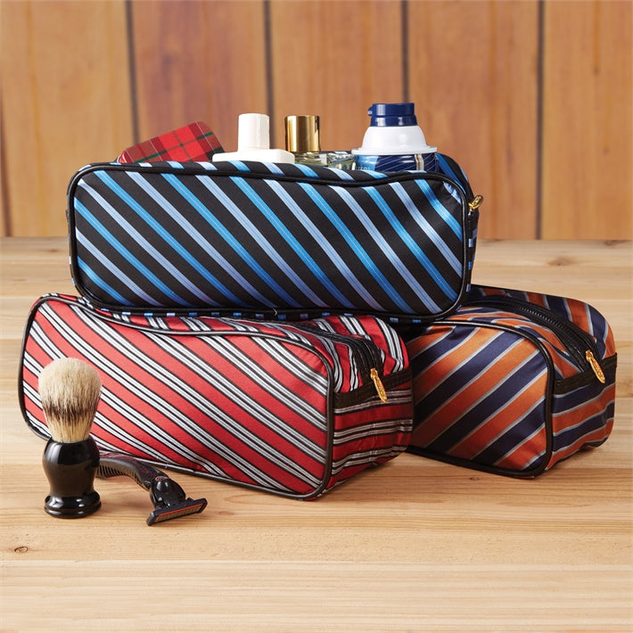 Harvard Tie Man's Toiletries Bag