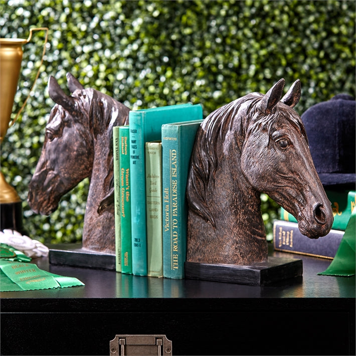 Stables Horse Bookends (Set of 2)