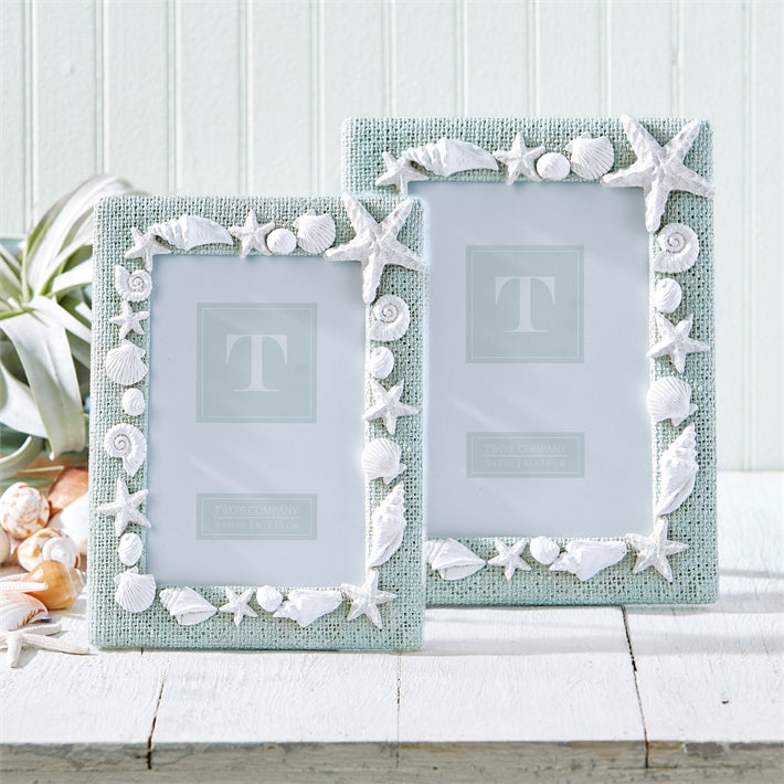 Under the Sea Shell Photo Frame