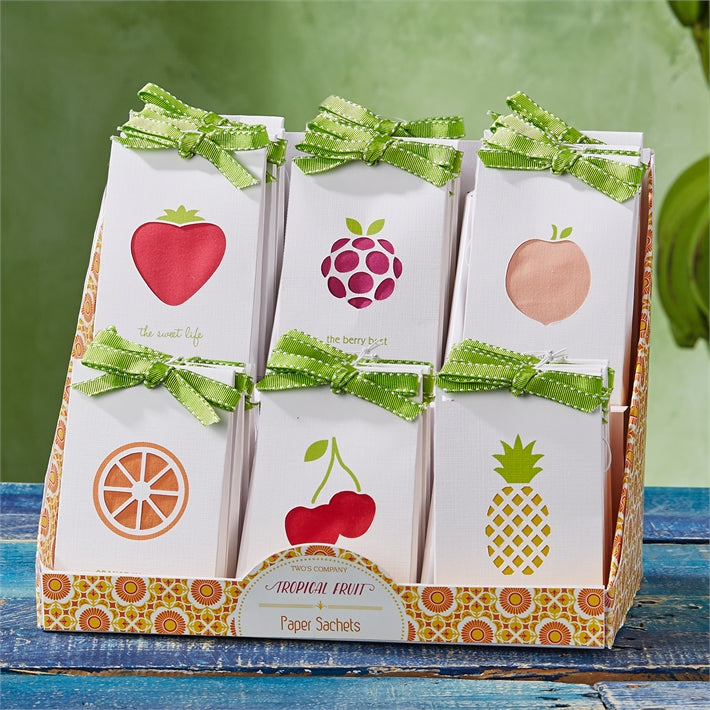 Tropical Fruit Paper Sachet