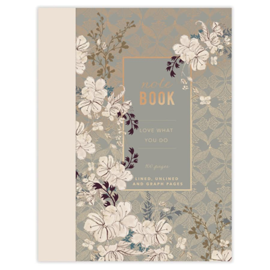 Floral Mist - Clothbound Notebook