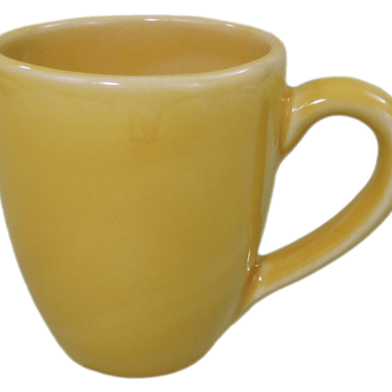 Stoneware Tea/Coffee Mug - Yellow