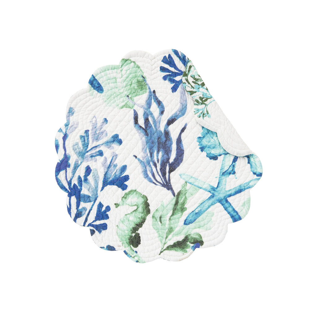 Bluewater Bay Reversible Cotton Placemat