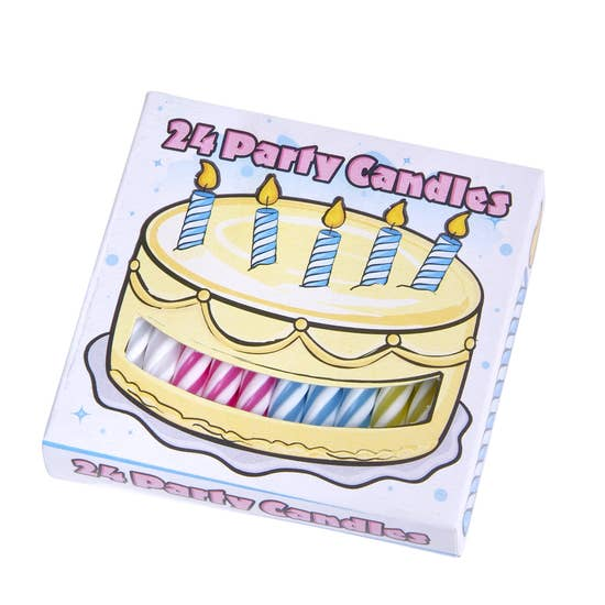 Birthday Candles (Box of 24)