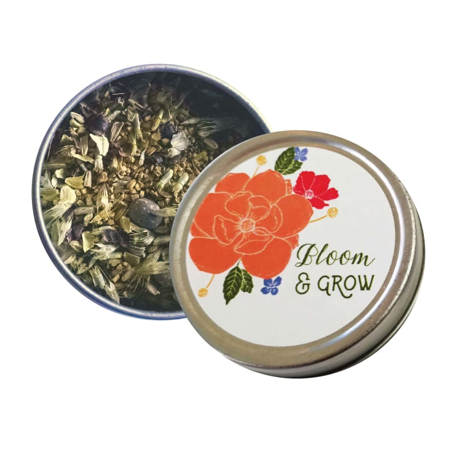 Bloom & Grow - Wildflower Seeds Tin