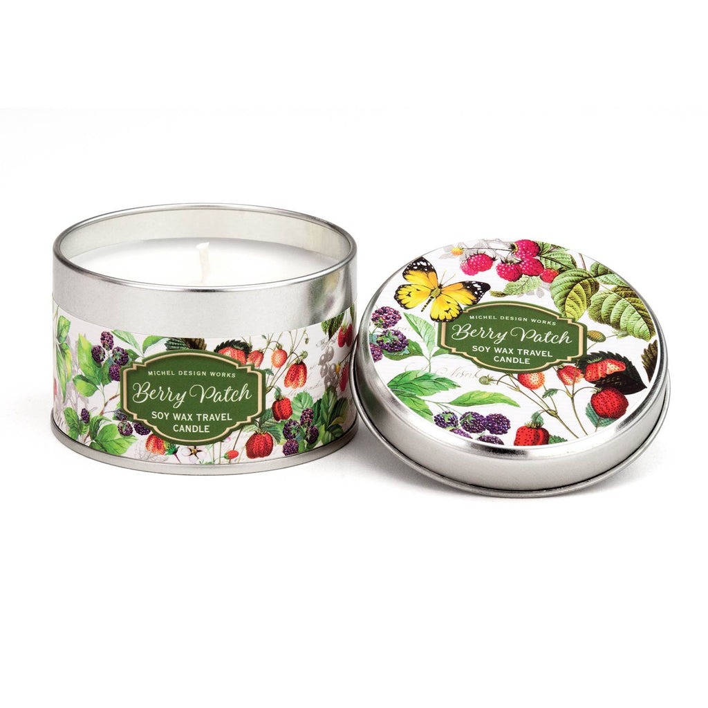 Berry Patch Travel Candle