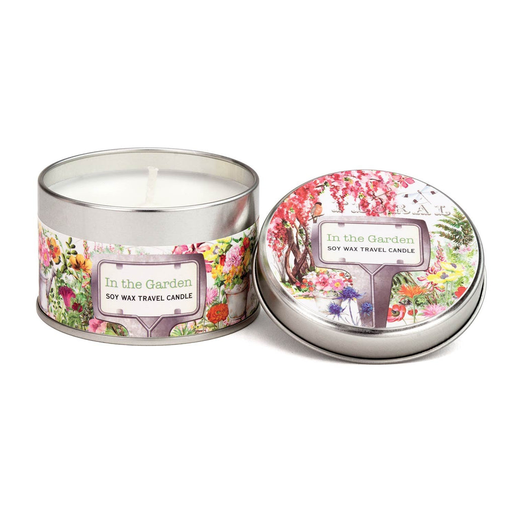 In the Garden Travel Candle