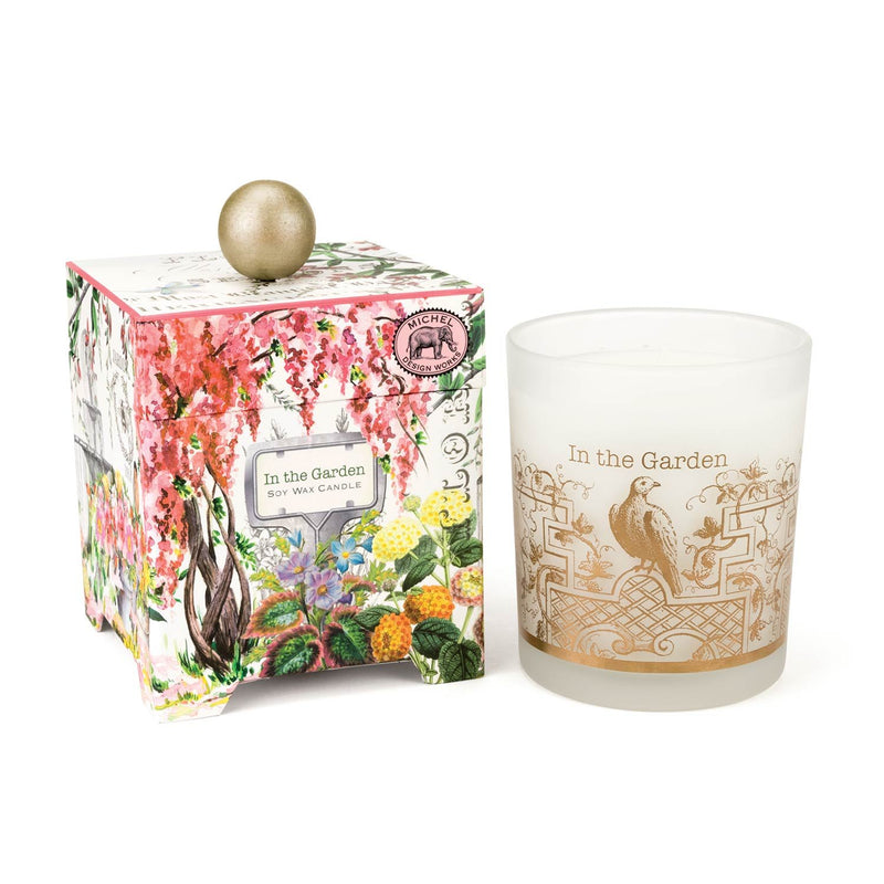 In the Garden 14 oz. Soy Wax Candle