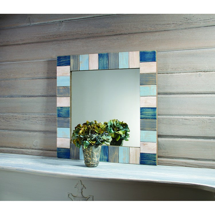 Weathered Wood Mirror