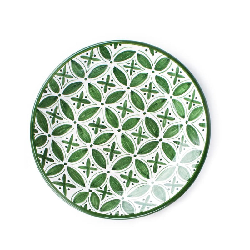 Green Fez Side Plate