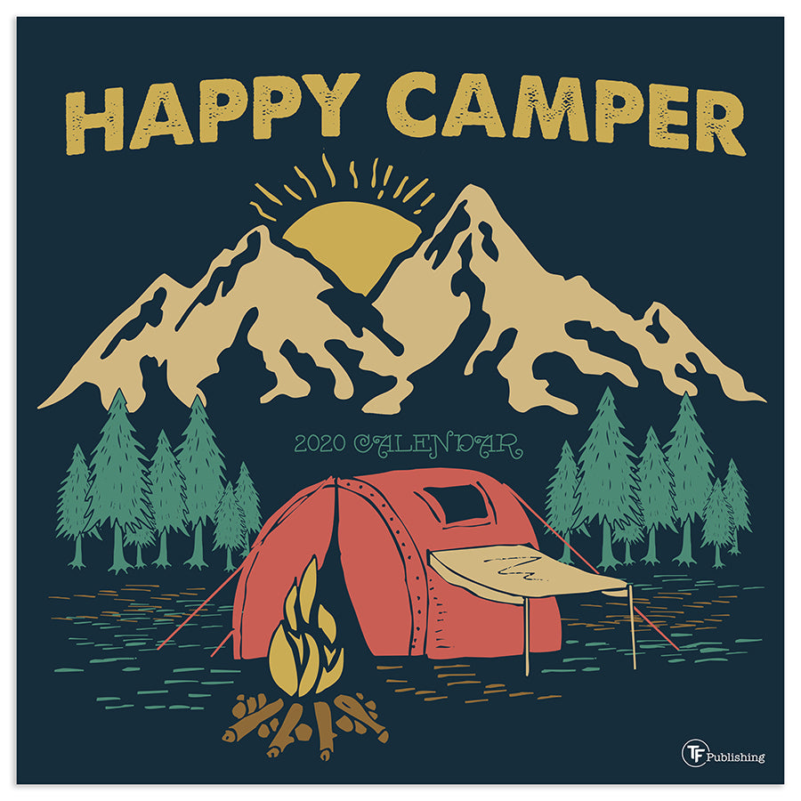 Happy Camper Calendar