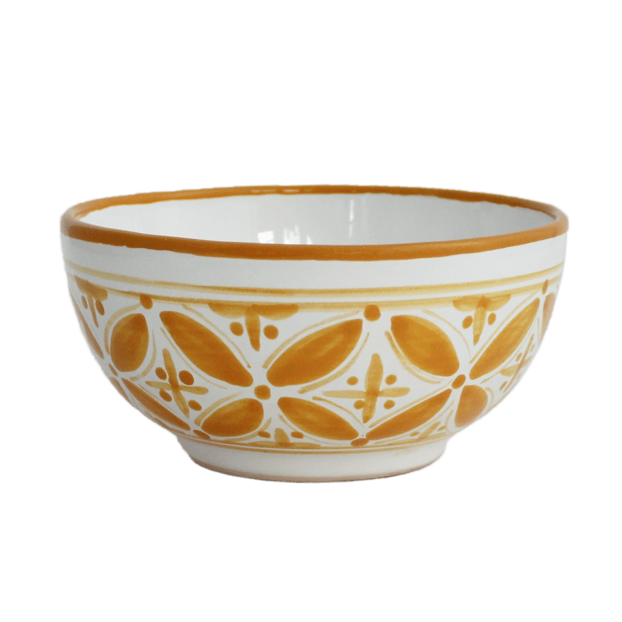 Yellow Fez Cereal Bowl