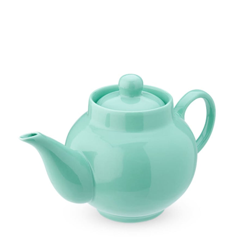 Green Ceramic Teapot & Infuser