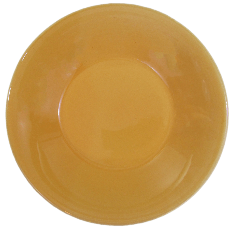 Stoneware Pasta/Salad Bowl - Yellow
