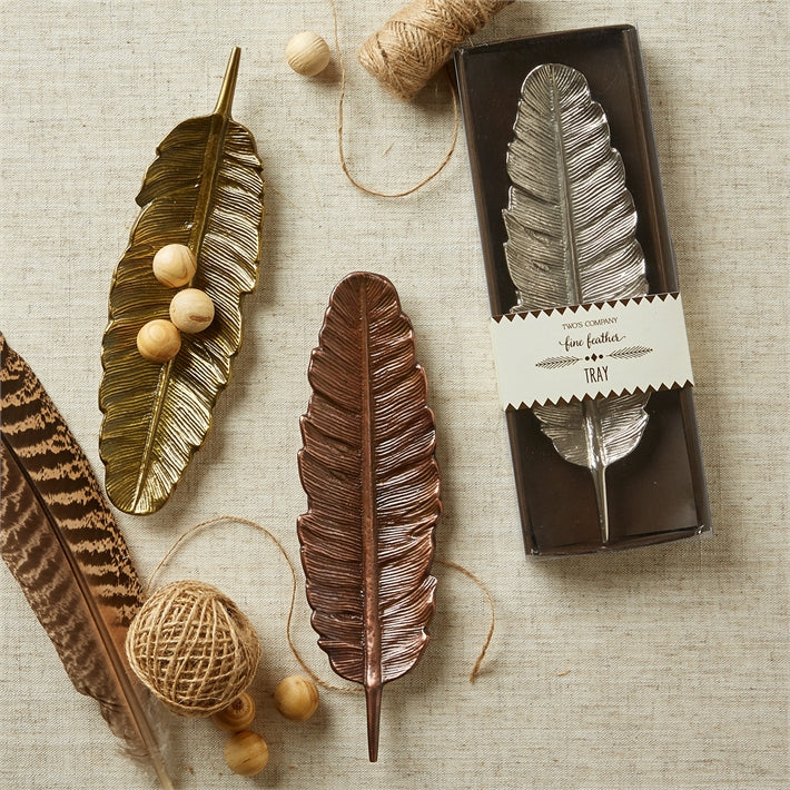 Fine Feather Tray in Gift Box