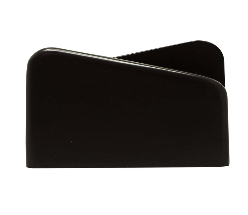 Black Wooden Napkin Holder