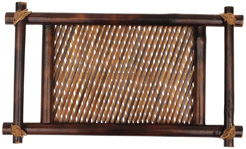 "14"" Bamboo Wood Tray"
