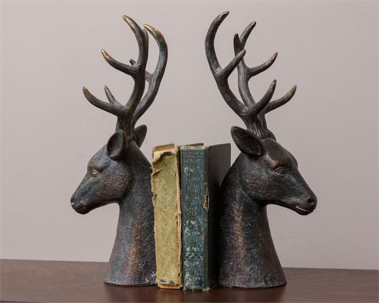 Deer Bookends (Set of 2)