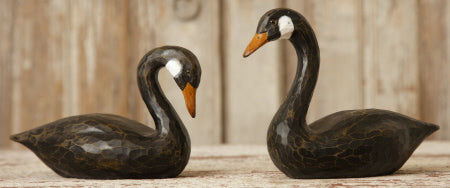 Black Swan Pair (Set of 2)