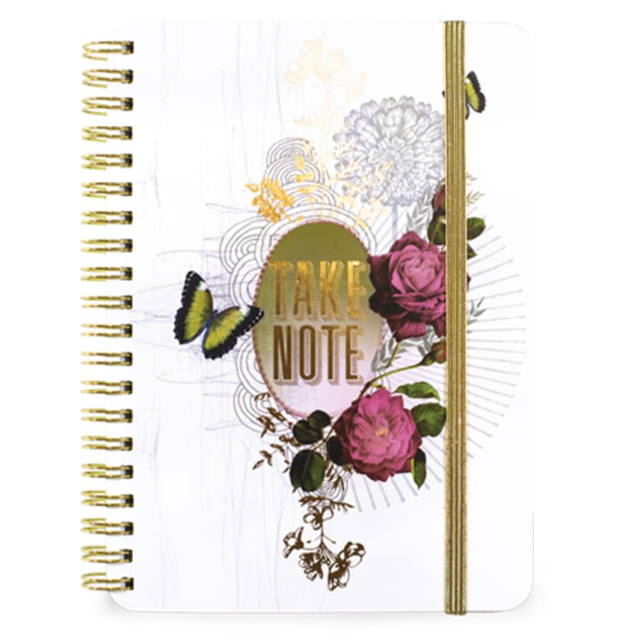 Take Note Spiral Notebook