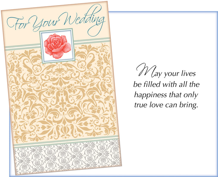 Greeting cards mulberry manor boutique wedding day card m4hsunfo