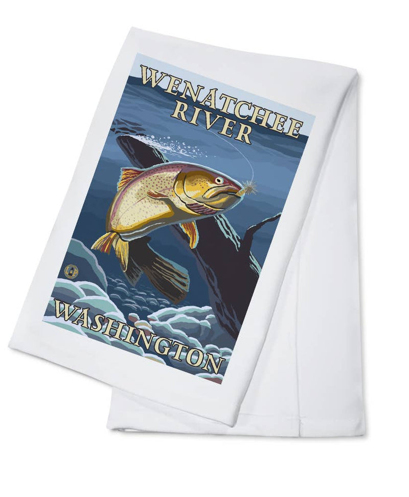 Wenatchee River, WA Towel