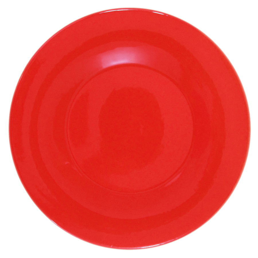Stoneware Dinner Plate - Red