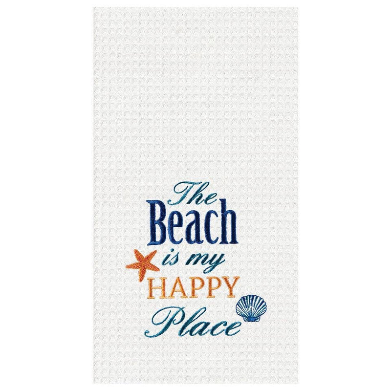 Beach Is My Happy Place Towel