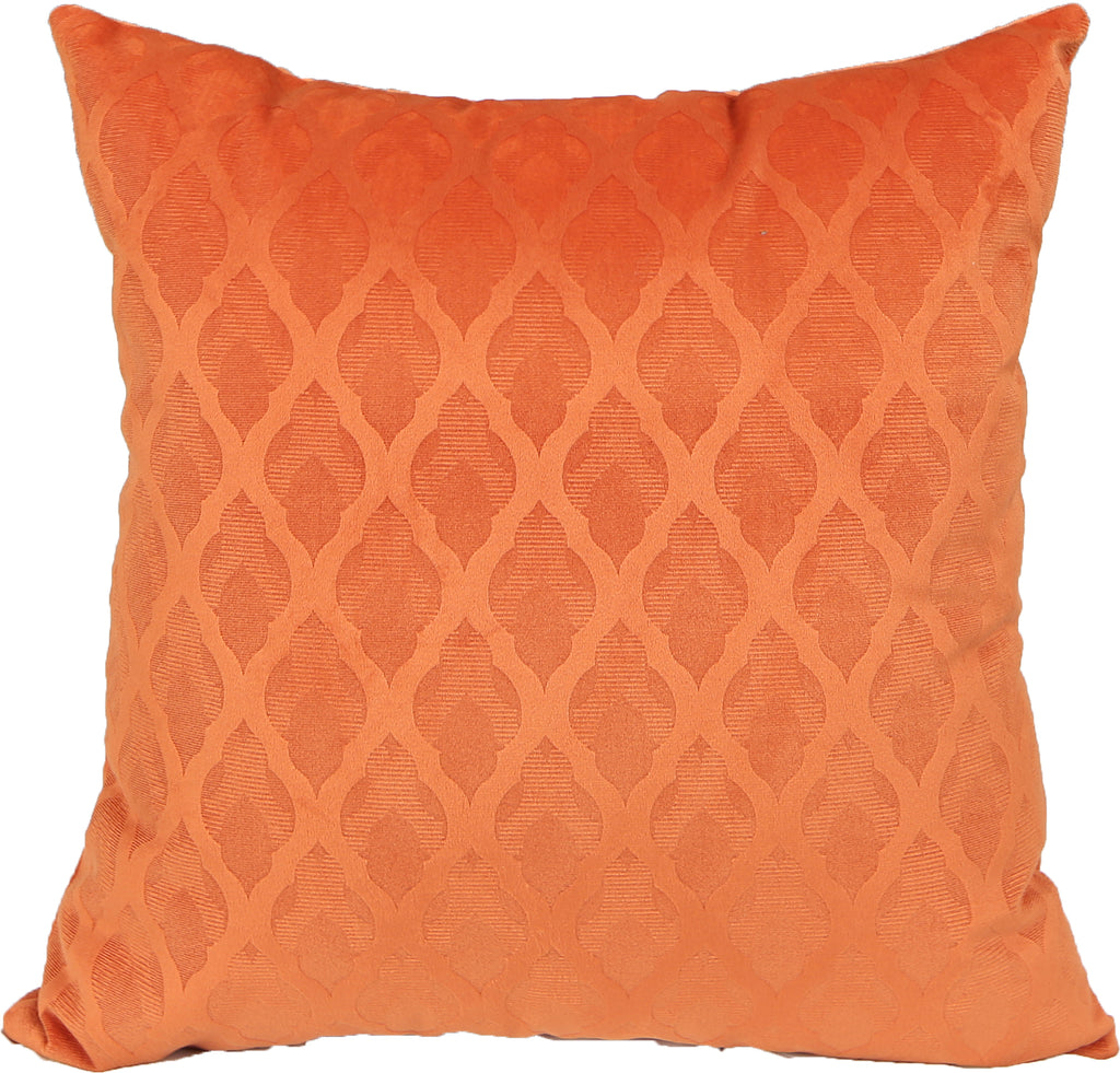 Brom Orange Indoor Pillow