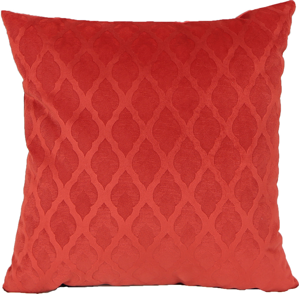 Brom Red Indoor Pillow