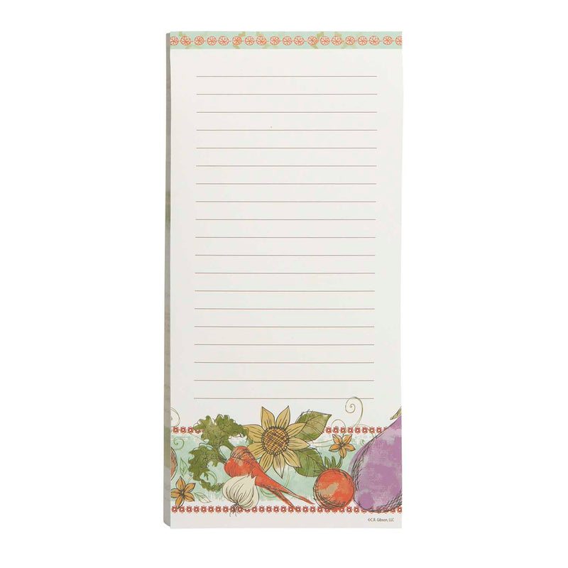 Magnetic Shopping List Pad - Alfresco